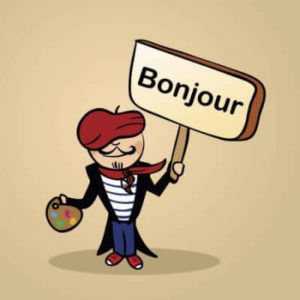 French-greeting-bonjour